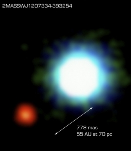 first exoplanet pic